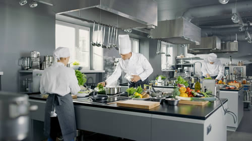 Commercial Restaurant Kitchen