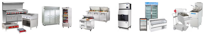 Commercial restaurant appliances and services